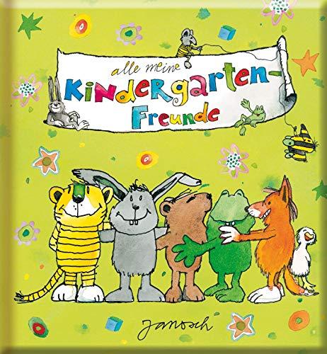 Meine Kindergarten-Freunde - Janosch: Freundebuch ab 3 Jahren für Kindergarten und Kita, für Jungen und Mädchen