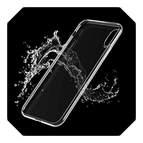 Schattig Licht Ticket Vliegtuig Telefoonhoesje Voor Iphone 11 Pro Xs Max Xr X 8 7 6S 6Plus Clear Boarding Board Soft Tpu Back Cover Fundas, for iphone 6 6s plus, 4