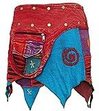 SHOPOHOLIC FASHION - Falda hippie de mujer para festival, estilo gótico