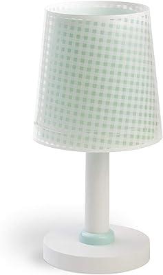 Dalber - Lampada da tavolo E-14, Verde, Multicolore, 15 x 15 x 30