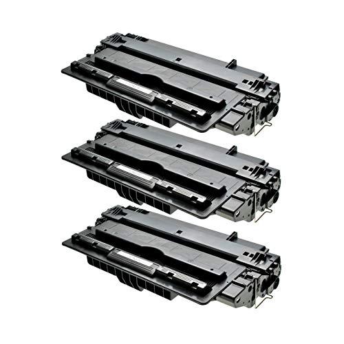 3Logic-Seek–Tóner compatible con HP CF214X 14X–Negro por 17500páginas