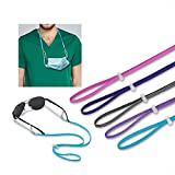 Face Mask Lanyard for Kids/Adults,Adjustable Glasses Straps Lanyard, with Lobster clasp and Adjustable Stopper for Mask Holders Extender (5 PACK)