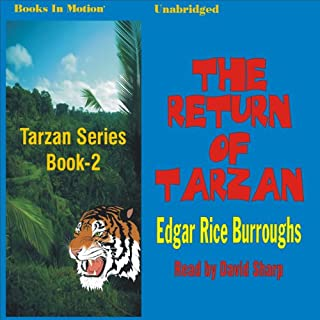 The Return of Tarzan audiobook cover art