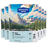 Backpacker's Pantry Pasta Primavera, 2 Servings Per Pouch, Freeze Dried Food, 14 Grams of Protein, Vegetarian