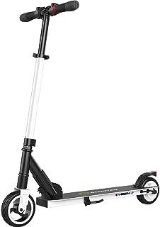 comprar comparacion M MEGAWHEELS Scooter electrico-Patinete electrico Adulto y niño, Ajustable la Altura, 5000 mAh, 23km/h.