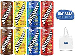 Nutrament Energy Drinks 8ct in 4 Flavors- includes Bay Area Marketplace tote bag!!
