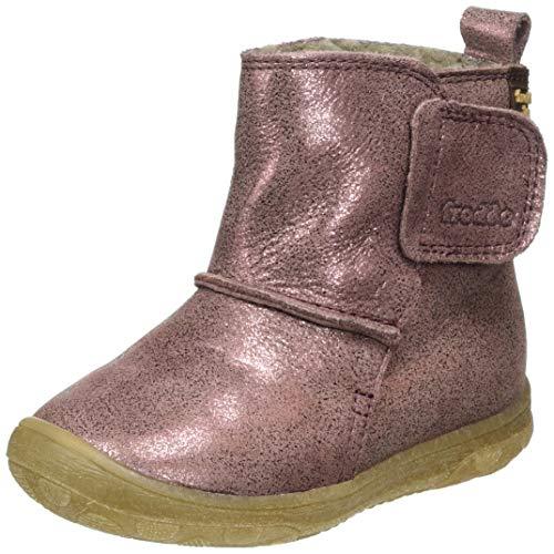 Froddo Mädchen G2160058 Girls Ankle Boot, PINK+, 24 EU
