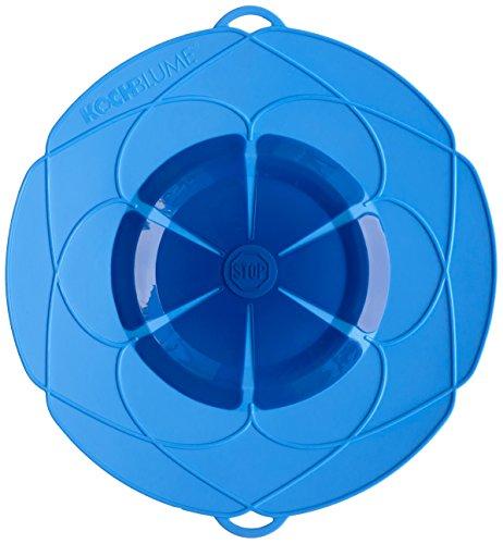 Kochblume Überkochschutz blau groß - Ø 33,0 cm