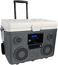 TUNES2GO KoolMAX Cooler Audio System & Power Station (Grey)