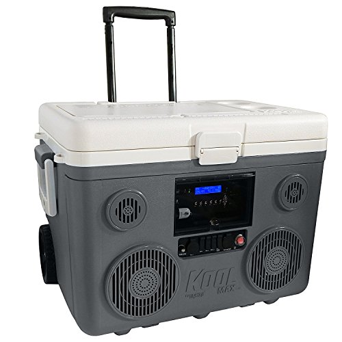 TUNES2GO KoolMAX Cooler Audio System & Power Station (Grey)