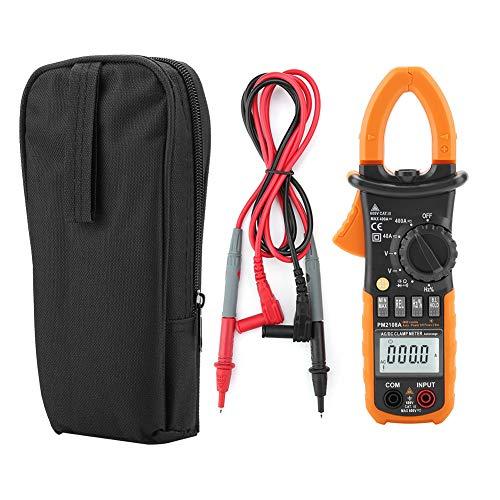 Pinza Amperometrica, PEAKMETER Clamp Meter PM2108A Clampometro Digital AC   DC Misurazione Capacità Resistenza Frequenza Tensione di Terra Amp Tester Multimetro 4000 Conteggi
