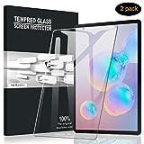 A-VIDET Vetro Temperato per Samsung Galaxy Tab S6, Premium 9H Durezza AntiGraffio Senza Bolle Vetro Temperato Screen Protector per Samsung Galaxy Tab S6-2 Pezzi