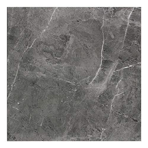 Rio Gris Carrara Azulejos de porcelana gris oscuro con venas blancas - Azulejos de suelo para baño, cocina, dormitorio, sala de estar, oficina, restaurante, hospital y más