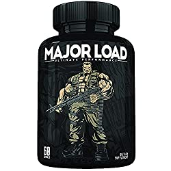 powerful Ultimate Test Booster for Men – Pills for Men's Strength – Increase Dietary Supplements – Increase Durability, Drive and Strength for Men – Size, Energy, Fat Burning – 60 Capsules – Made in USA