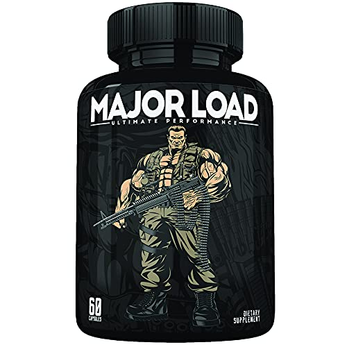 Ultimate Test Booster for Men - Male Enhancing Pills - Enlargement Supplement - Men's High Potency Endurance, Drive, and Strength Booster - 30 Day Supply