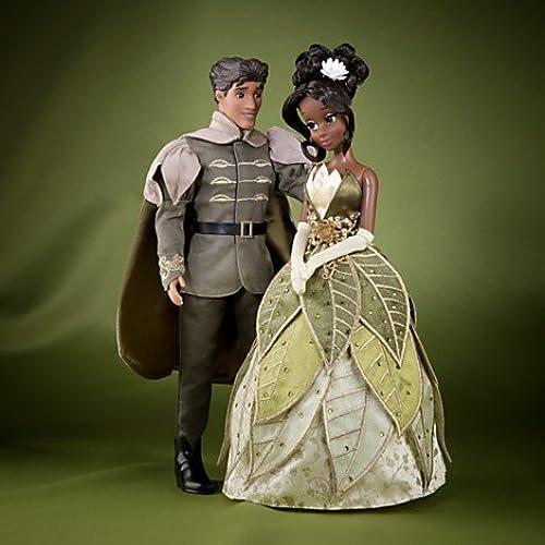 Disney M hen-Designer Kollektion - Tiana und Prinz Naveen Puppenset - limitierter Edition - Mit Echtheitszertifikat