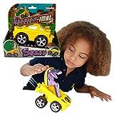 Convertimal Cars - Serpiente de Deluxebase. Coche de Juguete Transformable y Robot Racer para Niños. Un genial juguete con forma de vívora, es el coche transformable en serpiente #1 para niños y niñas