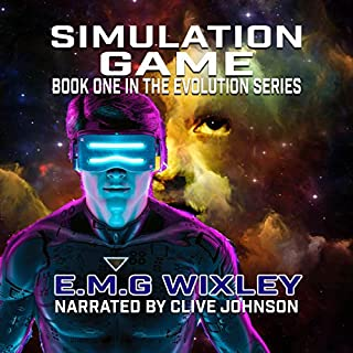 Simulation Game audiobook cover art