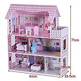 Zoom IMG-1 costway casa delle bambole in