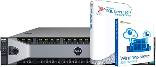 Dell PowerEdge R730XD SQL Server, 2 x Intel E5-2623 v3 3.0GHz, 96GB DDR4, 6.7TB SSD, Microsoft Windows Server 2016, Microsoft SQL Server 2017 Standard