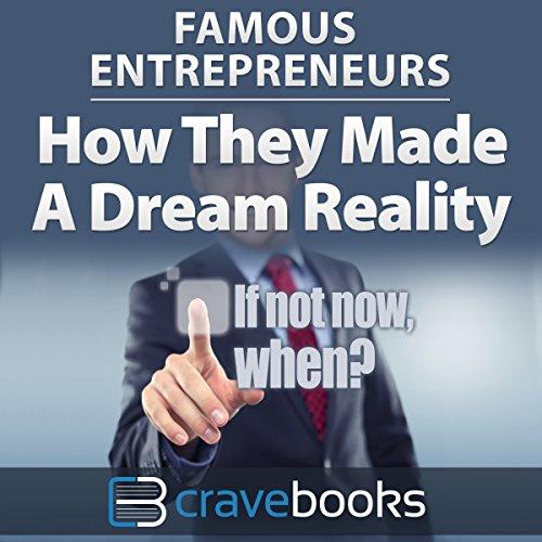 Famous Entrepreneurs audiobook cover art