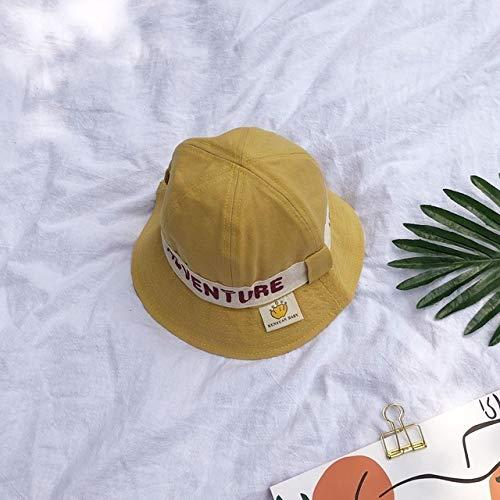 LIUYB Anillo Carta Sombrero de Pescador de 2020 nuevos niños con Sombrero for el Sol Sombrero for el Sol Gran Ventaja del bebé del Verano y el Sombrero Cuenca del otoño (Color : 02)