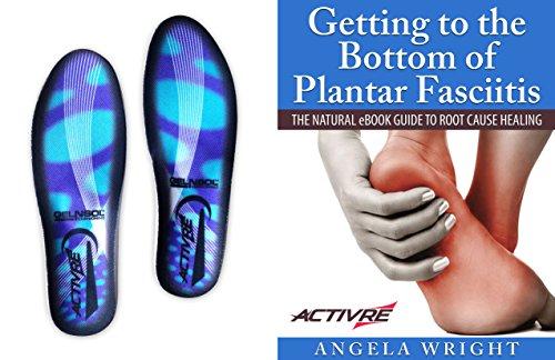 Activre Premium Orthotic Insoles - Plantar Fasciitis - Flat Feet - Heel...