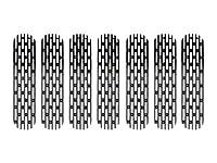 ドレイクオフロードJP-190008-BLACKグリルインサートジープJK用