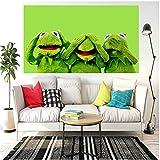 Bilder Leinwand Kermit Der Frosch Leinwandbilder Bild auf
