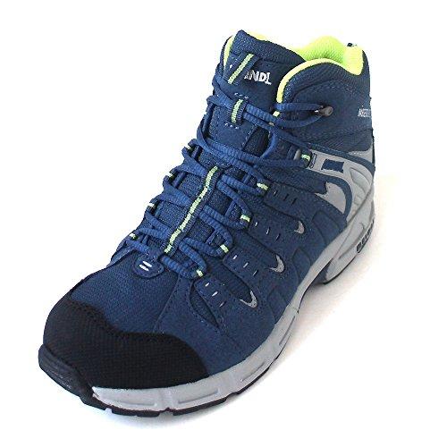 Meindl 2047-29 Snap Junior Mid, Chaussures basses pour Fille - Bleu - Bleu foncé, 39