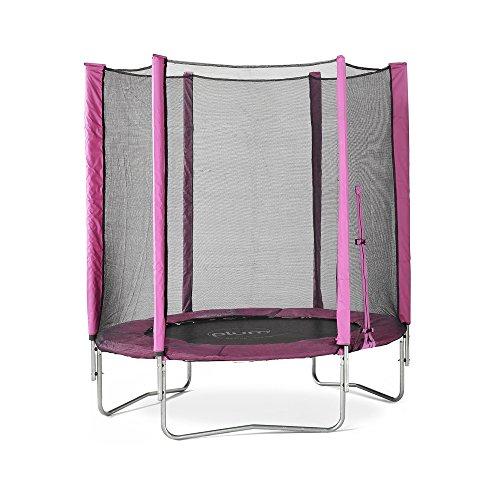 Plum 6ft Children's Trampoline & Enclosure - Pink