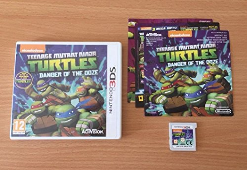 Teenage Mutant Ninja Turtles: Danger of the Ooze (Nintendo 3DS) by ACTIVISION