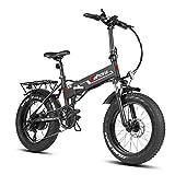 Eahora X5s 20 Inch Fat Tire Folding Electric Bike...