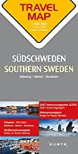 Southern Sweden Travel Map - 1:300,000 scale