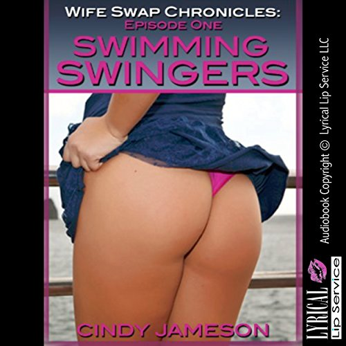 Swimming Swingers audiobook cover art
