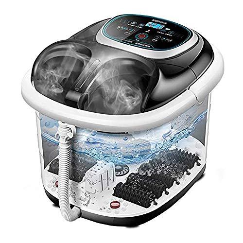 MRXUE Volautomatisch wassen van de potten, voetmassage met warmte- en massagefunctie voetenbad pannen op diepe emmer verwarming thermostatische massage