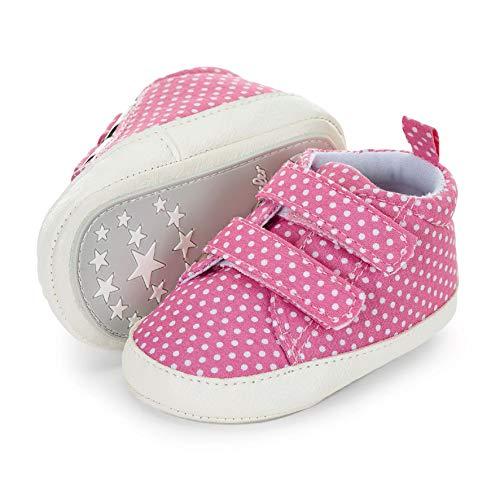 Sterntaler Jungen Mädchen Baby-Schuh Stiefel, Pink (Rosa 737), 17/18 EU
