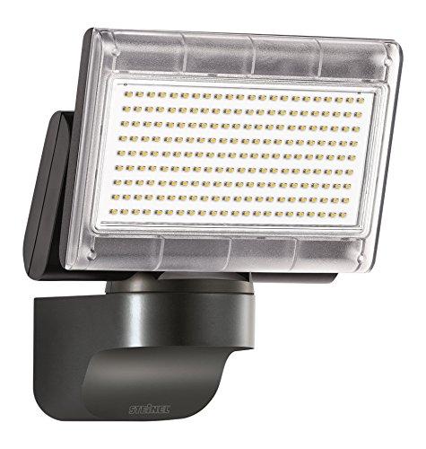 Steinel LED-Strahler XLED Home 1 Slave schwarz, ohne Bewegungsmelder, 12 W, 920 lm, schwenkbares Flutlicht, vernetzbar
