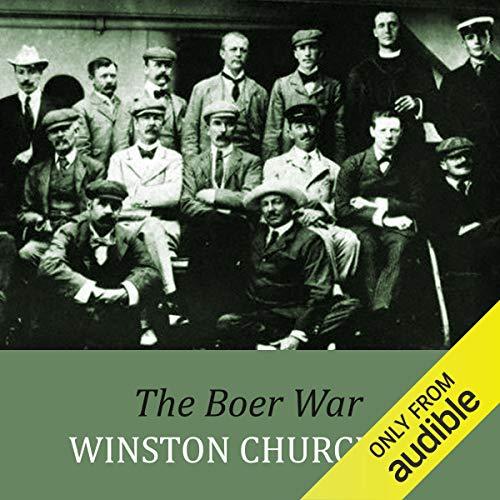 The Boer War audiobook cover art