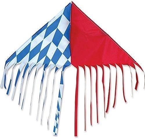 Fringe Delta - rot Blau by Premier Kites