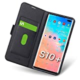 Aunote Samsung Galaxy S10 Plus Case Wallet, Samsung S10