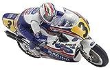 Kyosho Honda NSR500 Hanging-On Rider RC Motorcycle Kit 1:8-scale