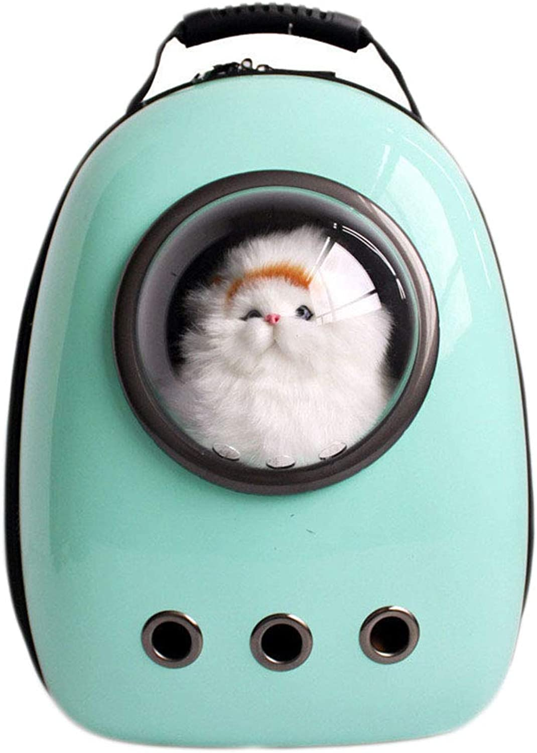 NINOMI Cat Backpack Space Capsule Pet Out Carrying Bag Comfortable Breathable Dog Backpack.