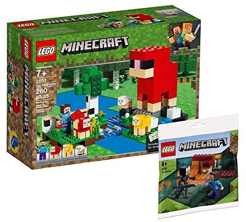 Collectix Lego Set - Lego Minecraft Die Schaffarm 21153 + Lego Minecraft das Nether-Duell 30331