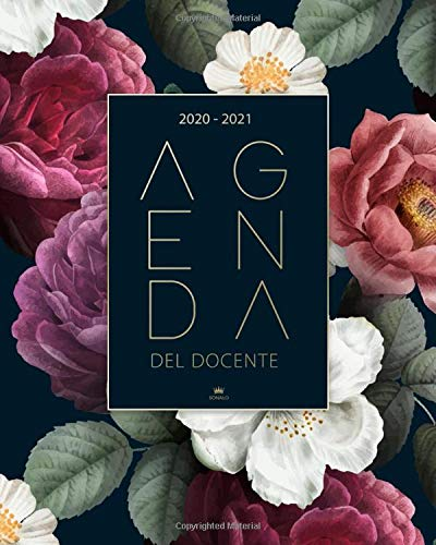Agenda del Docente 2020 2021: Calendario 2020 - 2021 per Insegnanti - Agenda Scolastica - Registro del Professore e Agenda settimanale 2020 - 2021