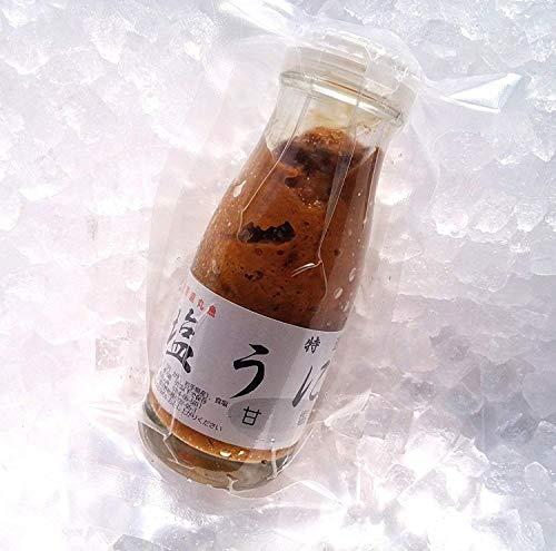 【単品・追加購入用】産直丸魚 甘塩うに 150g牛乳瓶入り (粒ウニ 塩ウニ うに ウニ)