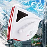 Podazz Double Sided Magnetic Window Cleaner,Glider Magnetic Window Cleaner,Double-Sided Magnetic Glass Window Cleaning Tool for 15-24mm Thick Glass or Car Windows