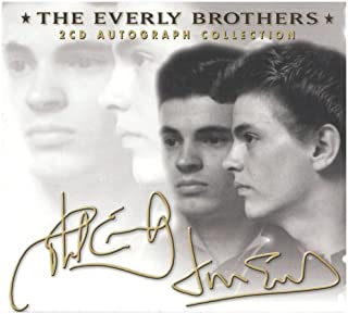 everly brothers autographs
