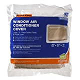 Frost King 2-Piece Quilted Indoor Air Conditioner Cover, Large, fits units up to 20' x 28'