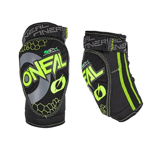 O'NEAL | Ellenbogenprotektor | Kinder | Motocross Enduro Mountainbike | Atmungsaktives Neopren, Leichtes und ultradünnes Konstrukt, Abriebfestes Material | Dirt Elbow Guard Youth | Schwarz | One Size